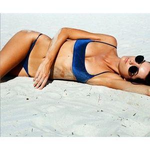 Triangl Swimwear - Kiyra Midnight Velvet Bikini